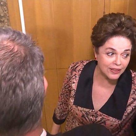 Ex-presidente Dilma Rousseff presta depoimento na Justiça Federal em BH