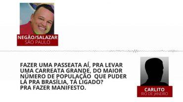 Gravação mostra facções de SP e Rio articulando protesto em Brasília contra 'opressão' em presídios federais