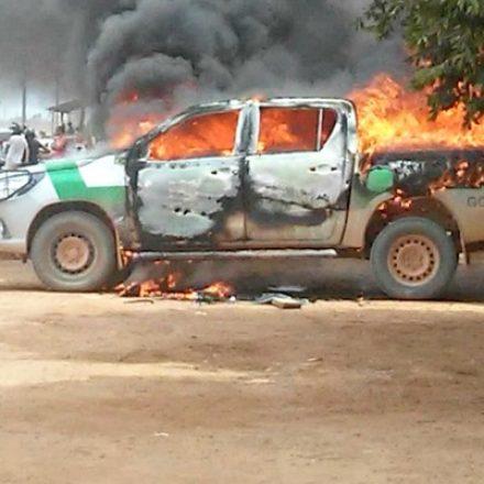 Carro do Ibama é incendiado em MT, em novo ataque contra o órgão