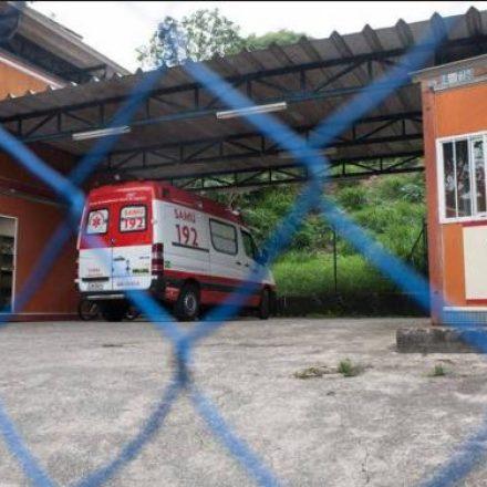 Ladrões fazem arrastão e levam ambulância do SAMU