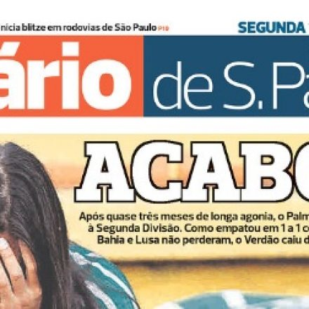 Justiça decreta a falência do jornal 'Diário de SP'