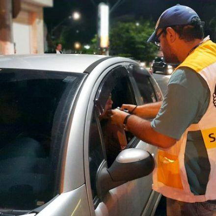 Lei Seca autua mais de mil motoristas com sinais de embriaguez no fim de semana