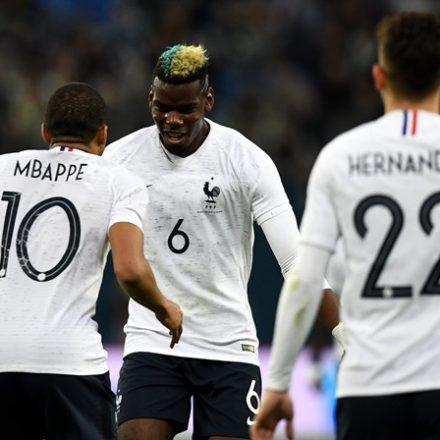França divulga convocação para o Mundial