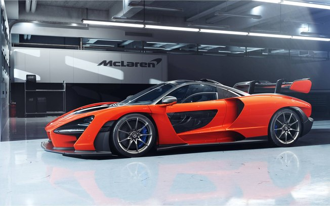 McLaren Senna: duas unidades vendidas no Brasil, por mais de R$ 8 milhões cada