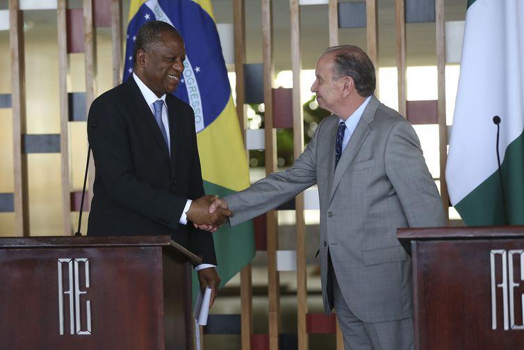 Chanceleres do Brasil e Nigéria se reúnem para tratar de cooperação