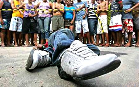 Brasil teve 325 mil jovens assassinados em 11 anos