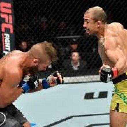 José Aldo volta a vencer no UFC