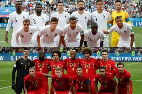 França e Bélgica abrem semifinais da Copa, hoje