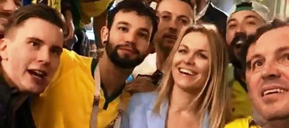 Por assédio, Rússia abre inquérito contra brasileiros que constrangeram mulher