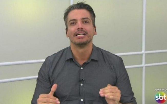 """Leo Dias se despede do """"Fofocalizando"""" e volta a falar sobre vício em cocaína"""