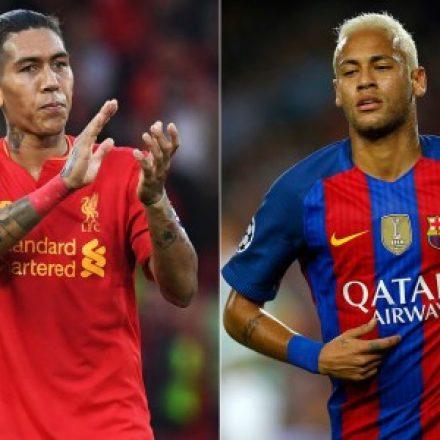 Liga dos Campeões começará amanhã com duelo entre Firmino e Neymar