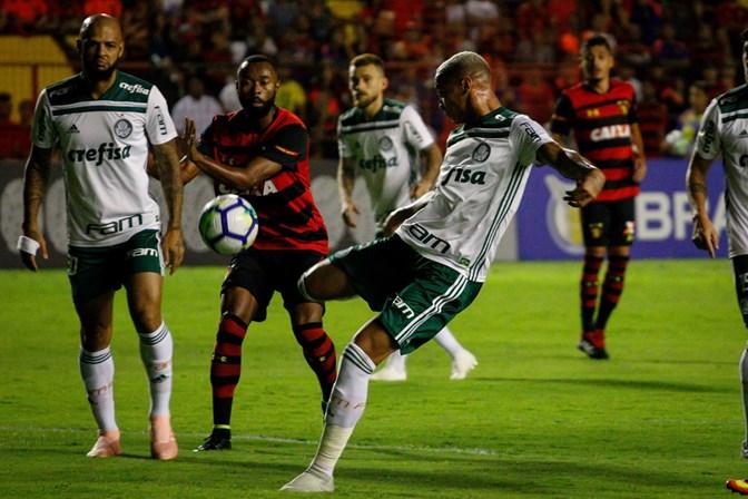 Palmeiras bate o Sport e se torna vice-líder do Brasileirão