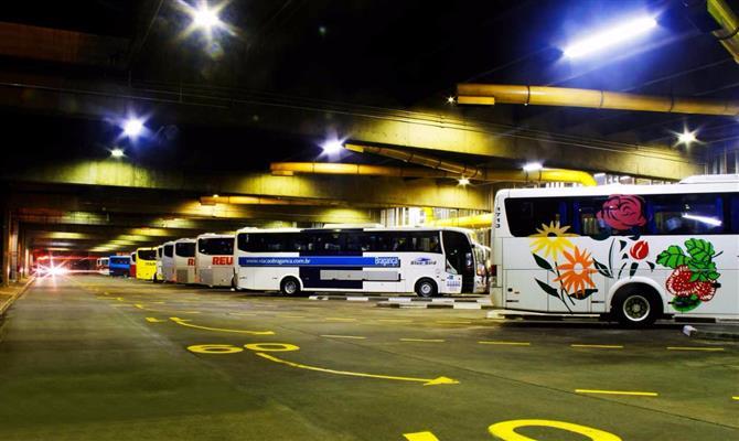 Rodoviárias de São Paulo deverão receber 600 mil passageiros neste feriadão