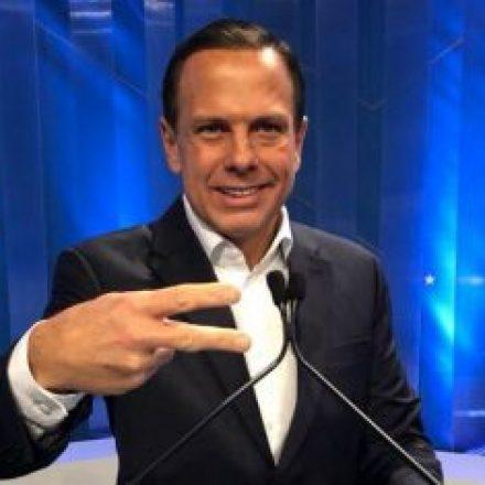 """""""Agora é hora de união"""", diz Doria em discurso após ser eleito Governador em SP"""