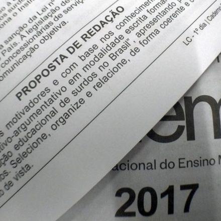 Inep vai treinar neste sábado quase 300 supervisores dos corretores da prova de redação do Enem 2018