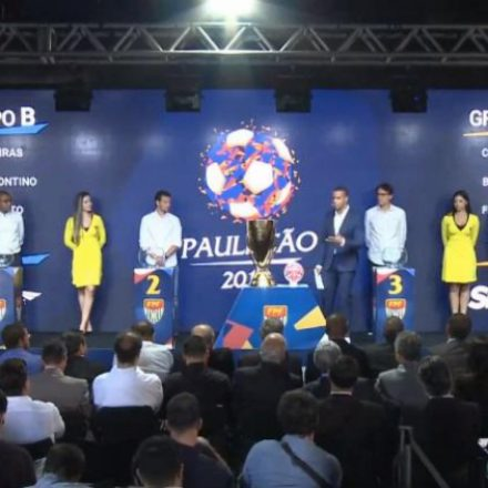 Federação sorteia grupos e confirma VAR no mata-mata do Paulistão 2019