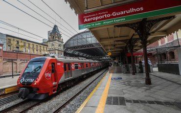 CPTM inicia nesta terça viagens diretas entre a Estação da Luz e o aeroporto de Guarulhos