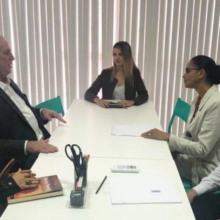 Ciro Gomes e Marina Silva se encontram para traçar linha de oposição a Bolsonaro