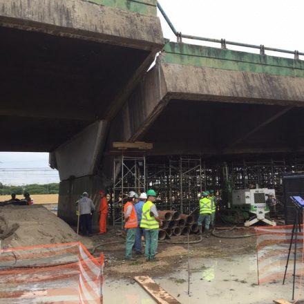 Prefeitura libera trechos da pista expressa da Marginal Pinheiros perto do Viaduto que cedeu