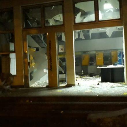 Madrugada violenta: Criminosos explodem bancos e fecham principal acesso a Campos do Jordão