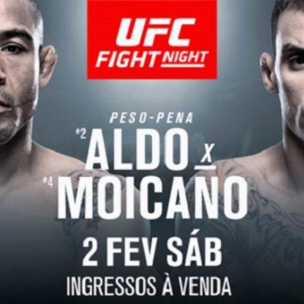 Aldo x Moicano é confirmado no UFC Fortaleza