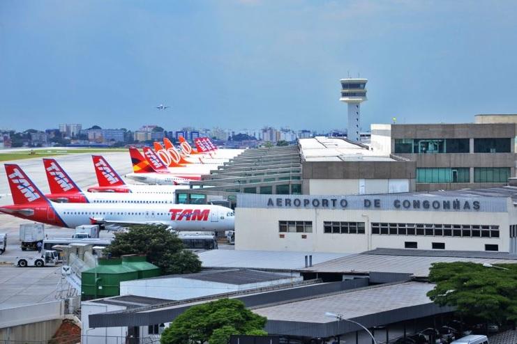 Congonhas é o 2º aeroporto mais pontual da América Latina