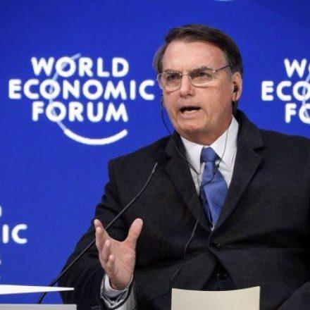 Executivos avaliam postura de Bolsonaro, em Davos, na Suíça