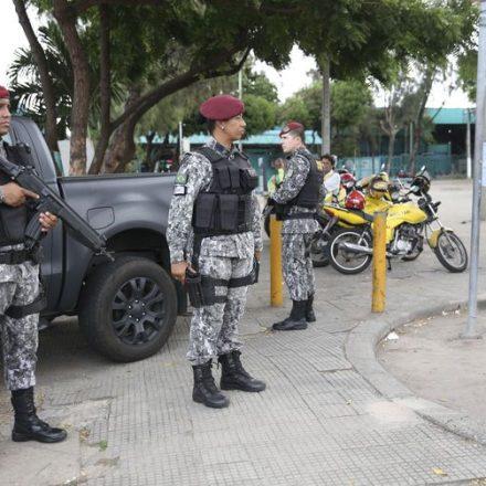 Força Nacional aumenta efetivo no Ceará