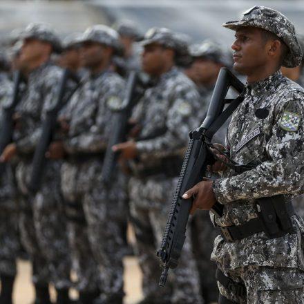 Forças federais começam a atuar no Ceará