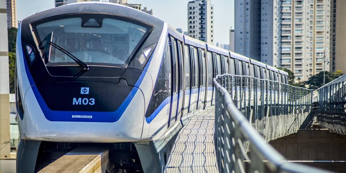 Metrô: trecho entre Oratório e Vila União da linha 15-Prata terá horário integral a partir de sábado