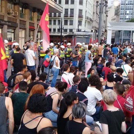 Movimento Passe Livre segue contestando o aumento nas tarifas de ônibus