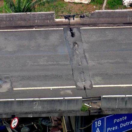 Prefeitura de SP interdita ponte que liga Marginal Tietê à Dutra