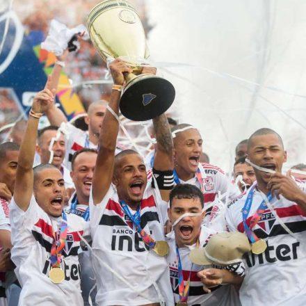 São Paulo vence Vasco nos pênaltis e é tetra da Copinha
