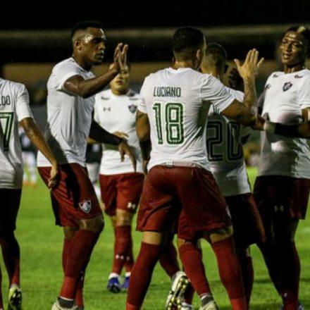 Fluminense goleia o River-PI e passa na Copa do Brasil