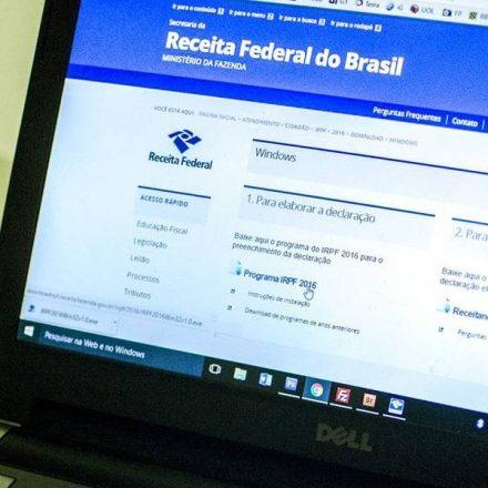 Programa para envio de declaração do IR estará disponível segunda-feira