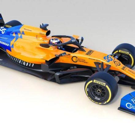 Com dupla de jovens pilotos, McLaren apresenta carro para Fórmula 1 deste ano