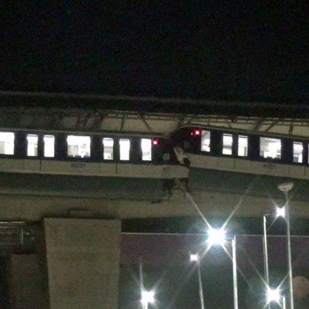 Laudo do Metrô de SP aponta falha humana em batida de trens do monotrilho da linha 15-Prata