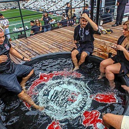 Arena tem área de R$ 4.000 com piscina