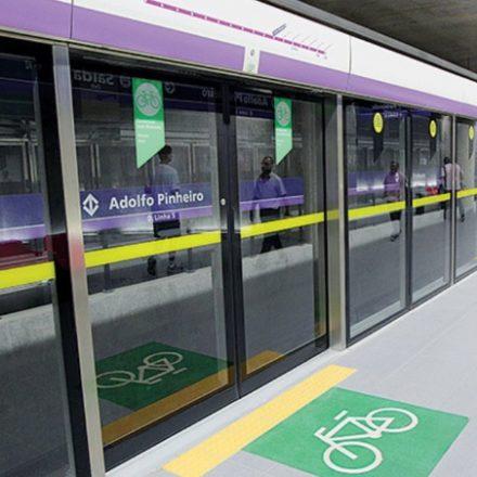 Bicicletários da linha 5-lilás seguem fechados no metrô