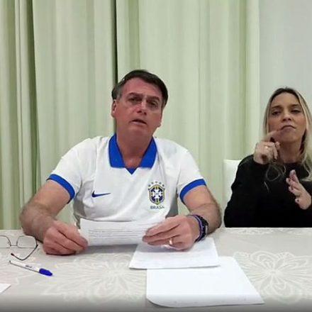 Contratos de patrocínio da Petrobras passam por revisão, diz Bolsonaro