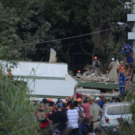 Crea responsabiliza omissão do Poder Público por desabamento no Rio