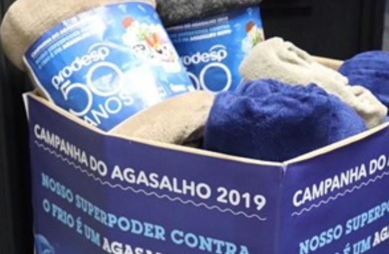 Governo de SP lança a Campanha do Agasalho 2019