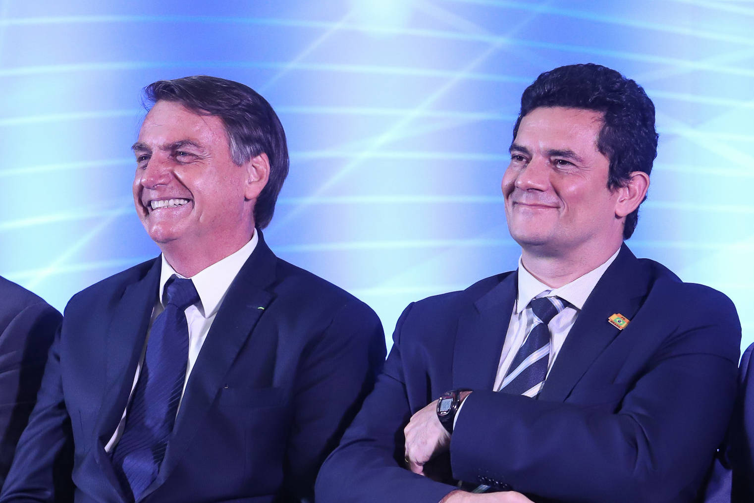 Bolsonaro afirma que espera poder indicar Moro ao STF