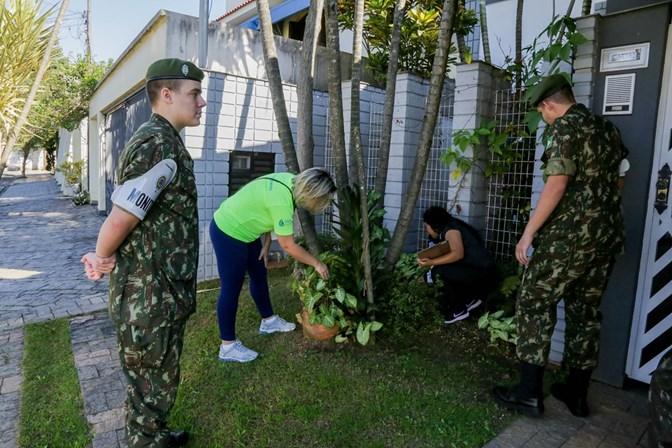 Ação contra a dengue nos bairros da Fundação, Prosperidade e Barcelona