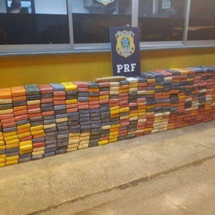 PRF apreende mais de 500 kg de cocaína em Paranaguá