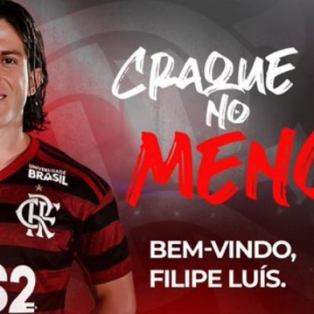 Flamengo oficializa a contratação de Filipe Luís