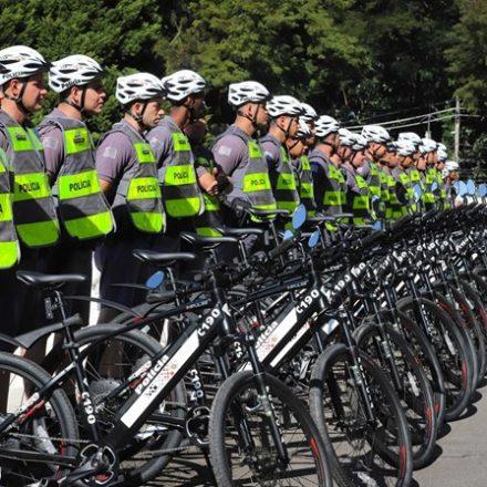 PM usará bicicletas elétricas no policiamento na capital