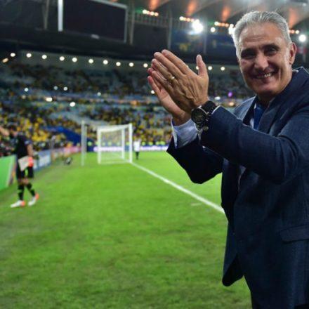 'Eu me tornei técnico da Seleção Brasileira hoje', diz Tite após título