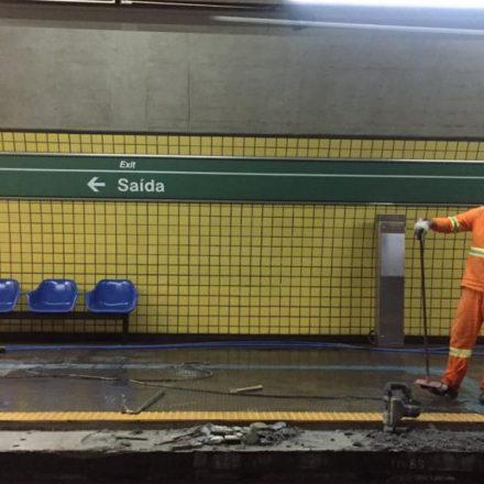 Linha 2-Verde do Metrô terá Operação Especial, neste mês, para obra na Estação Vila Madalena
