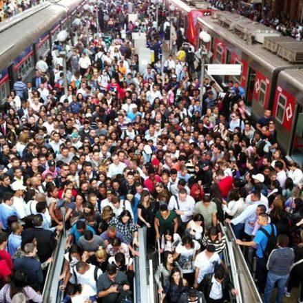 Linha 9-Esmeralda da CPTM de São Paulo foi a que mais registrou problemas na última semana